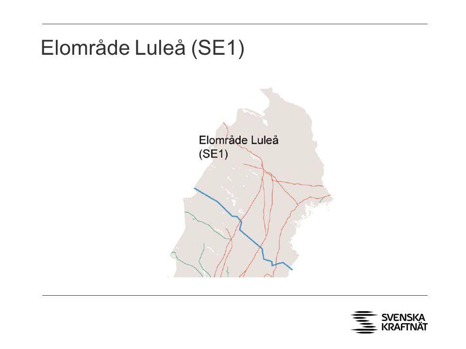 Elområde Luleå (SE1)