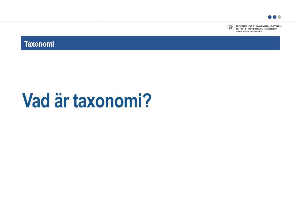 Fördelar med taxonomibaserad klassificering Förbättringar FÖRDELAR 13