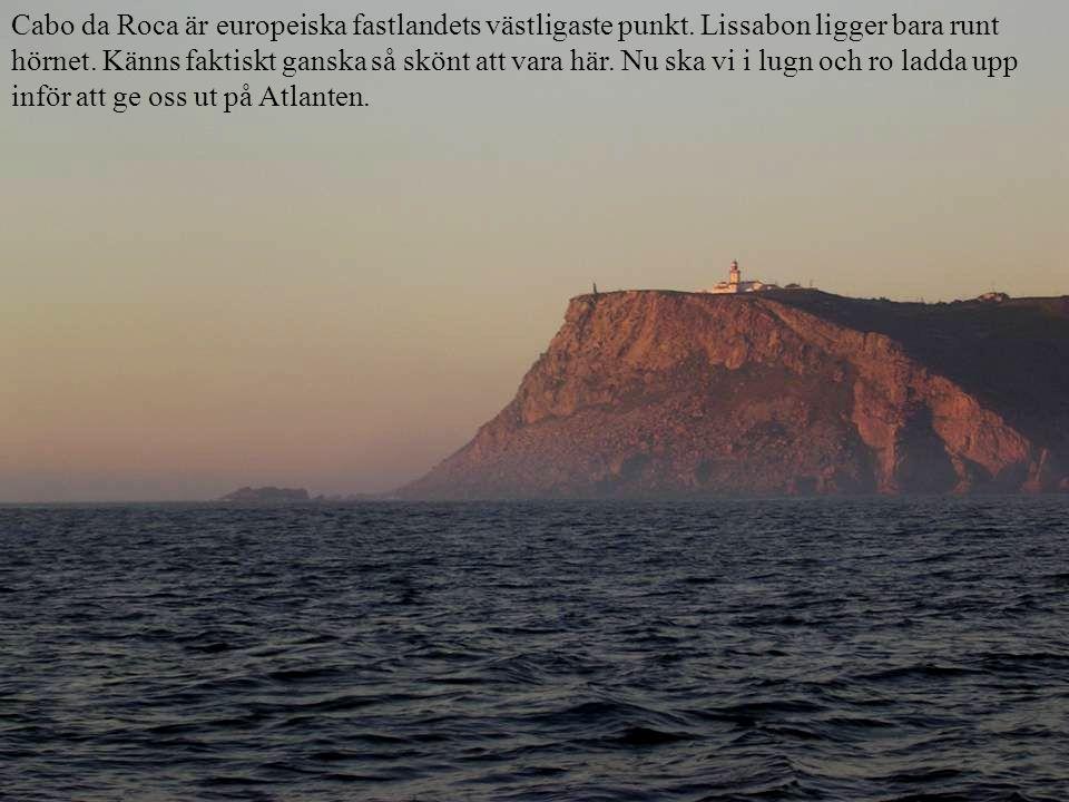 Cabo da Roca är europeiska fastlandets västligaste punkt.