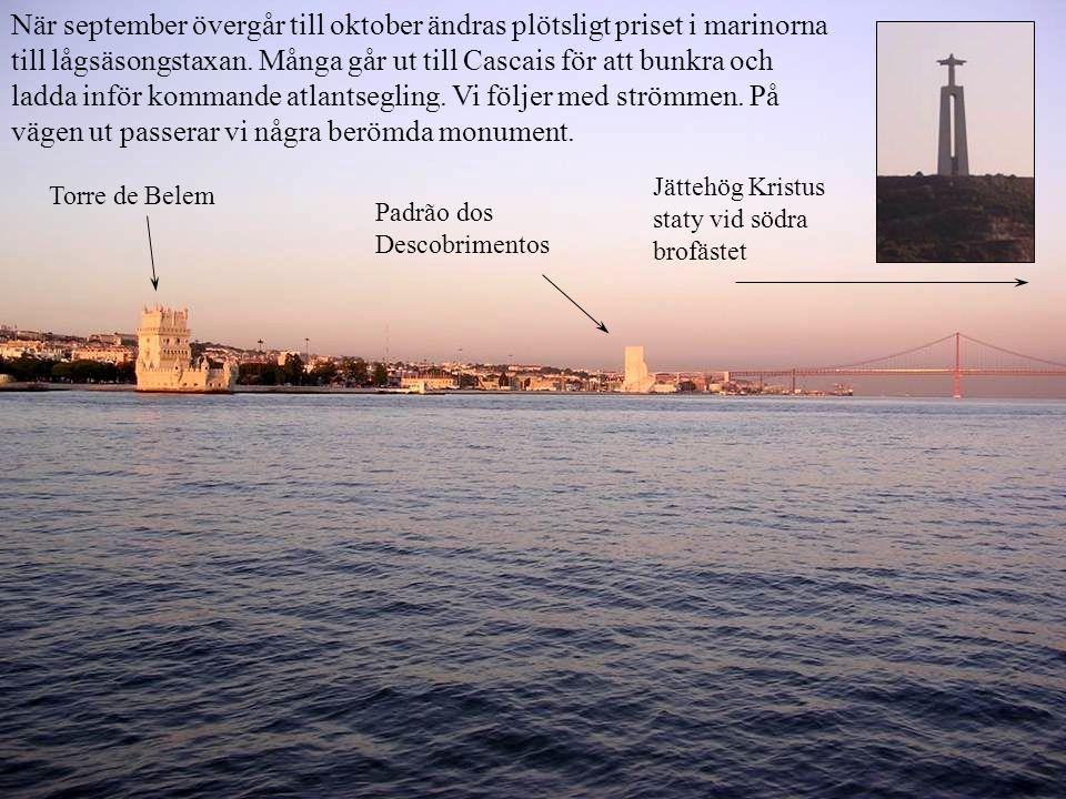När september övergår till oktober ändras plötsligt priset i marinorna till lågsäsongstaxan.