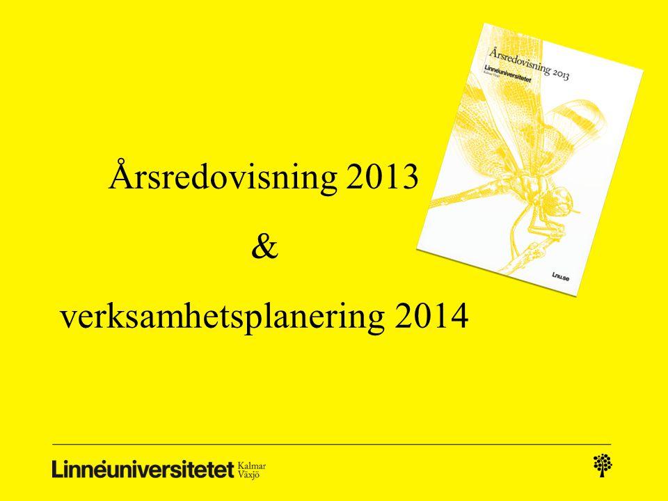 Årsredovisning 2013 & verksamhetsplanering 2014