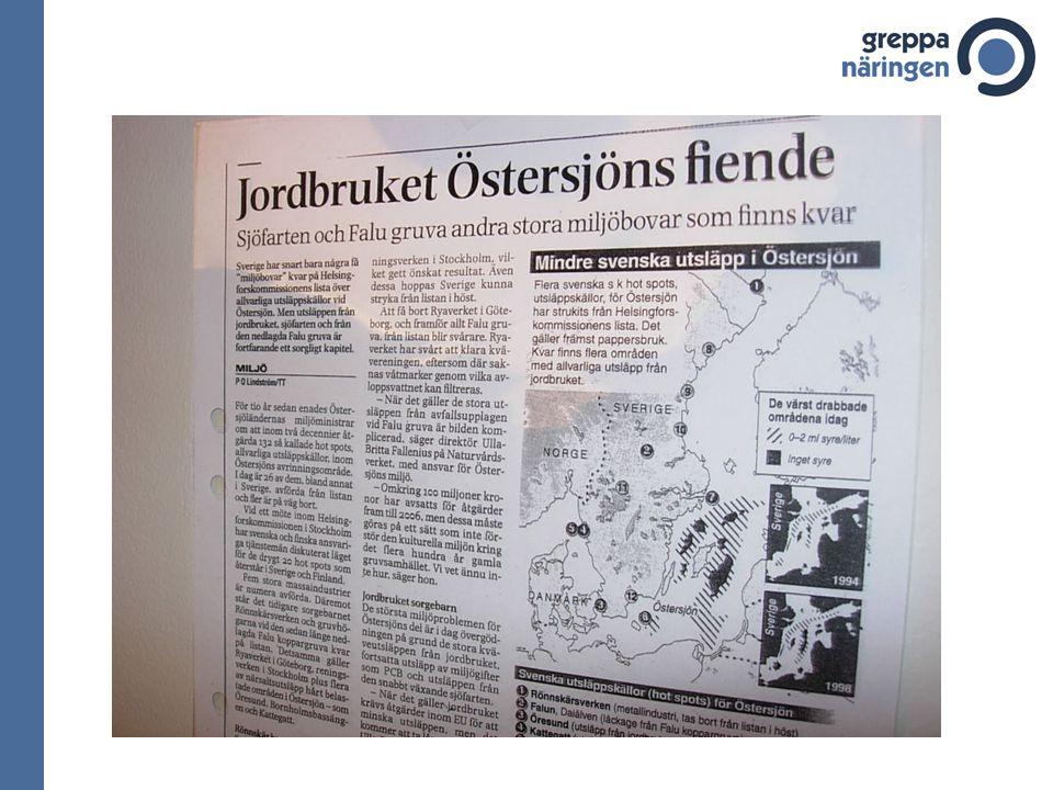 Lekområden för torsk i Östersjön