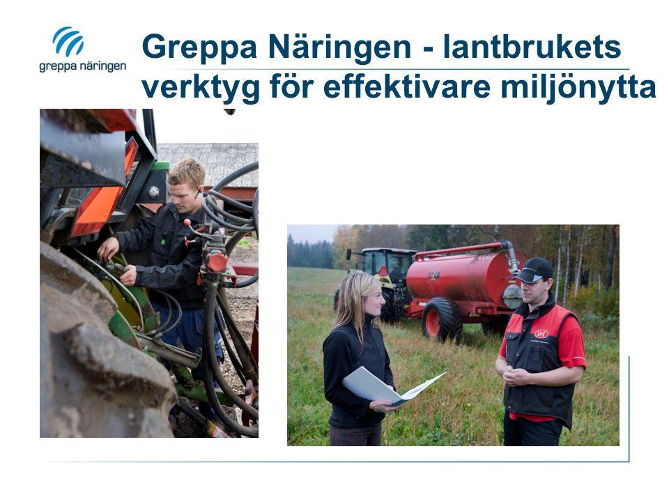 Greppa Näringen - lantbrukets verktyg för effektivare miljönytta