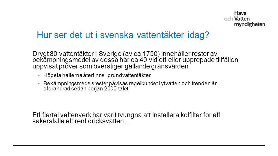 För att ändra/uppdatera/ta bort Presentationsnamn och Namn i foten, gå in på Infoga - Sidhuvud/sidfot Hur ser det ut i svenska vattentäkter idag.