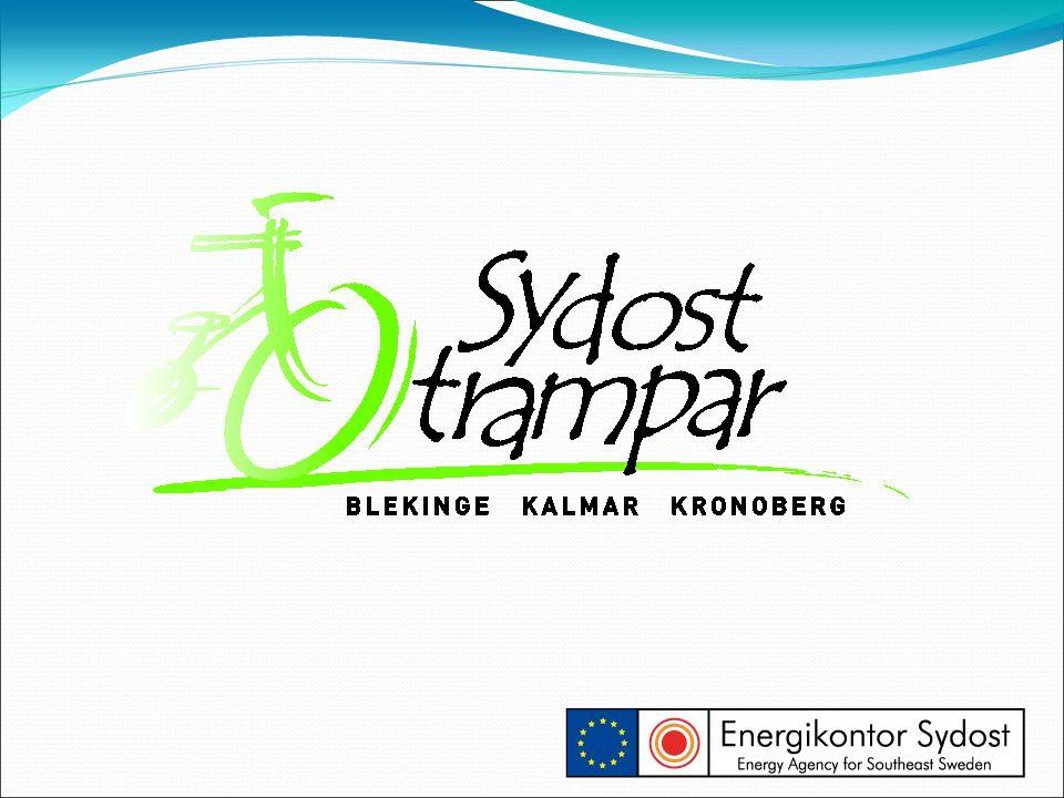 SydostTrampar - en cykelkampanj, upplagd som en tävling mellan lag på arbetsplatser som tävlar i att spara mest koldioxid.
