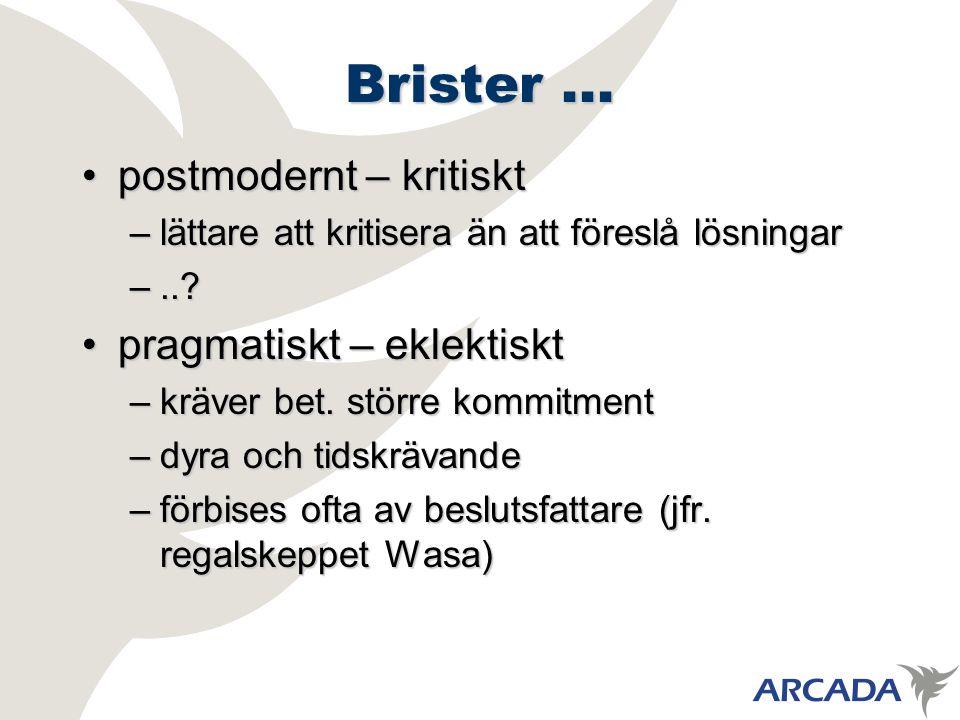 Brister...