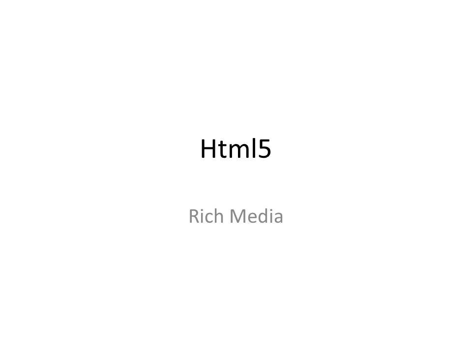 Html5 Rich Media