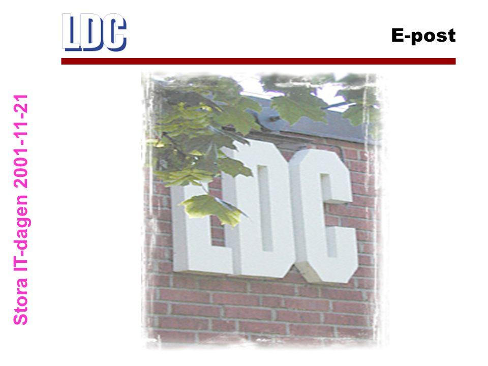 Stora IT-dagen 2001-11-21 E-post