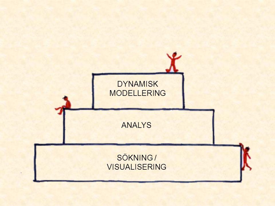 SÖKNING / VISUALISERING ANALYS DYNAMISK MODELLERING