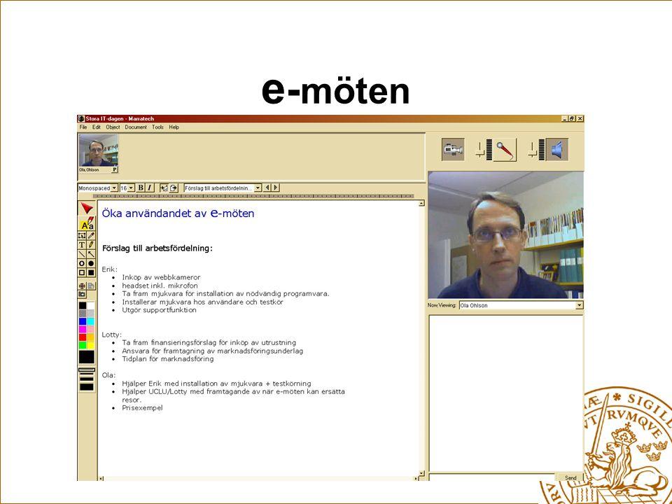 e - möten