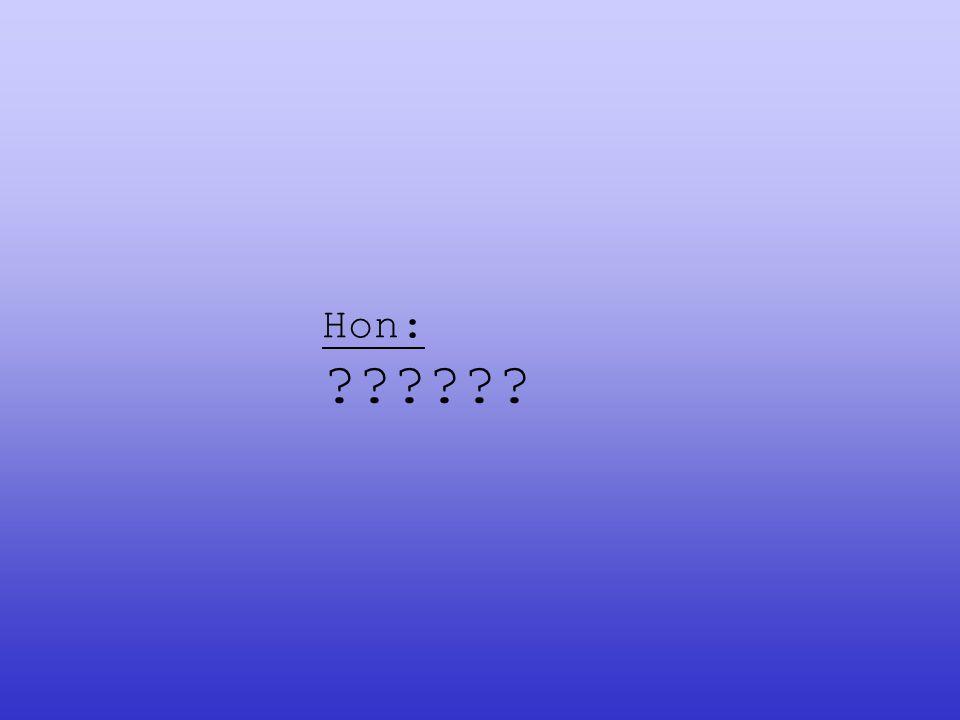 Hon: ??????