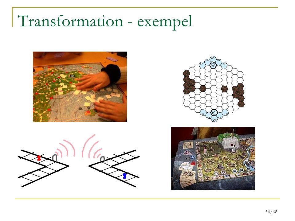 54/68 Transformation - exempel