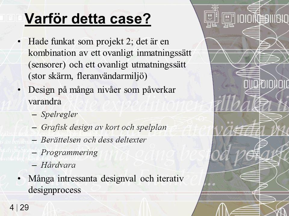 29 4 Varför detta case.