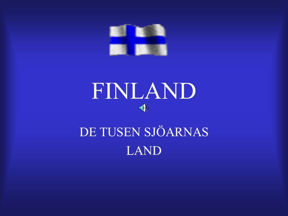FINLAND DE TUSEN SJÖARNAS LAND