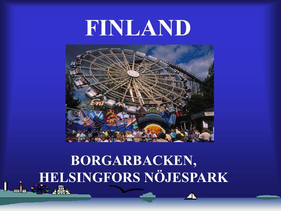 FINLAND BORGARBACKEN, HELSINGFORS NÖJESPARK