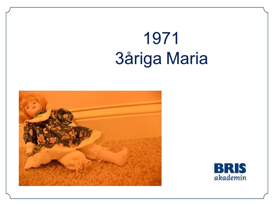 1971 3åriga Maria