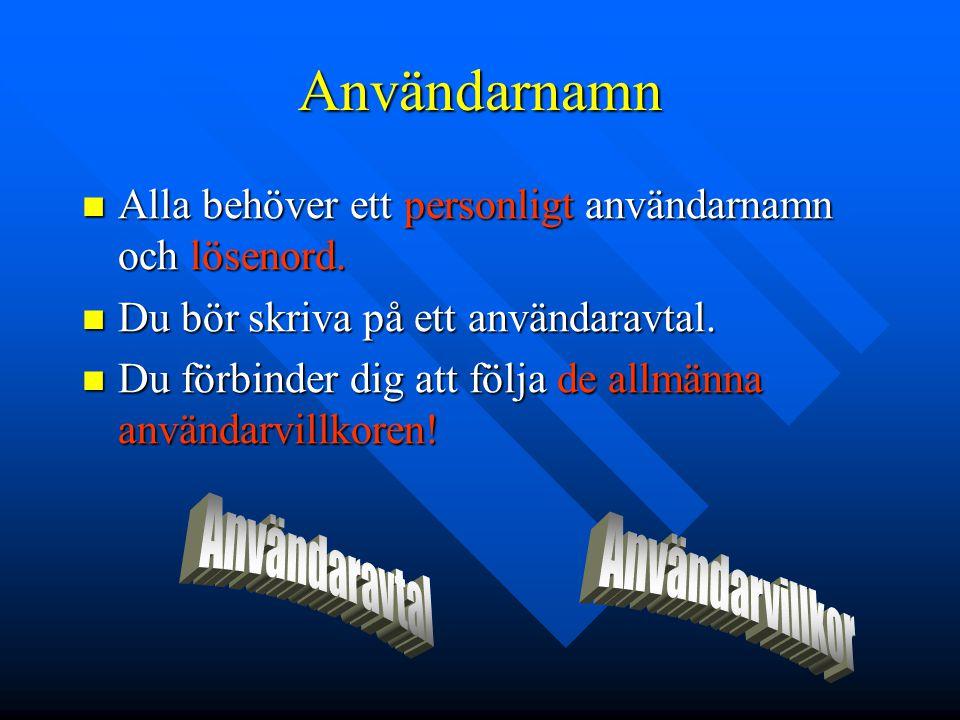 E-post E-post adressen E-post adressen E-post –förnamn.efternamn@abo.fi –det är skillnad på användarnamn och e-post adress.