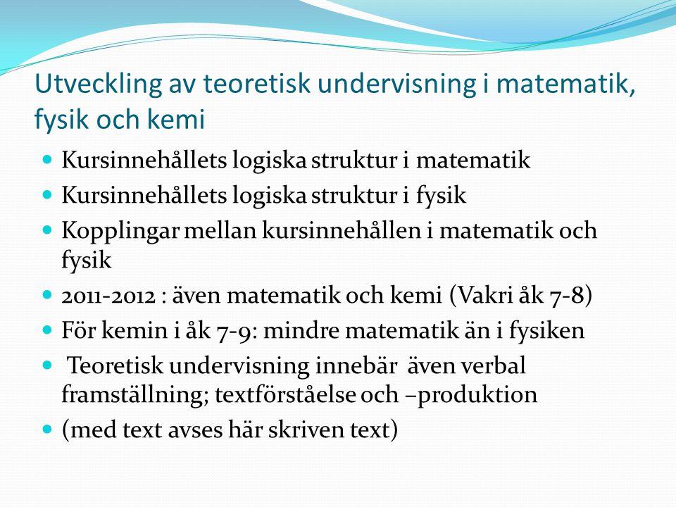 IB-läroplan för vågrörelselära, del 1