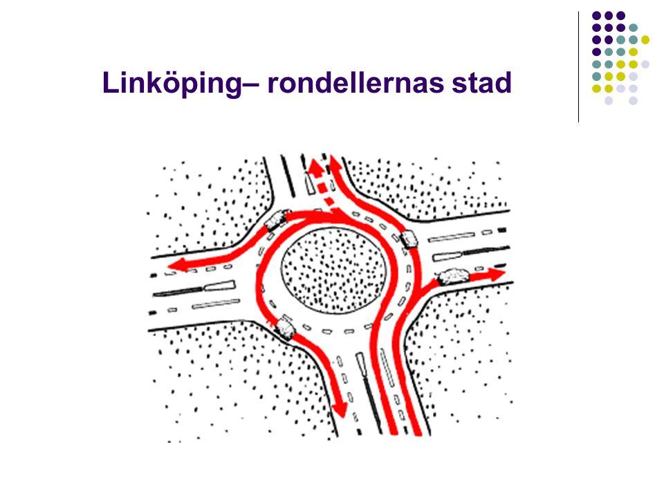 Linköping– rondellernas stad
