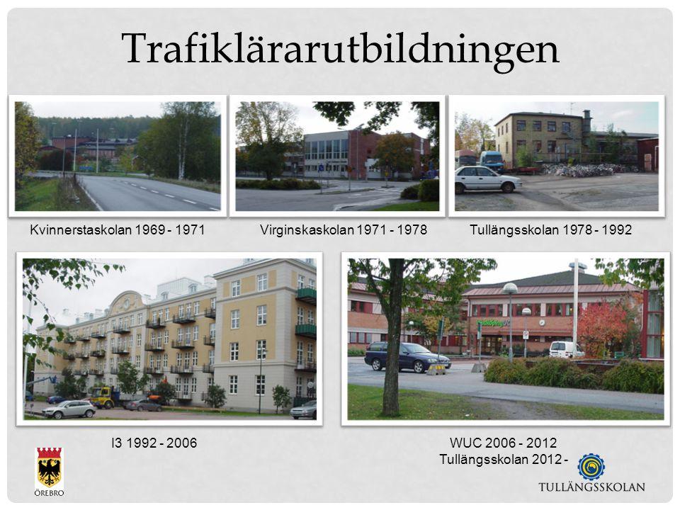 WUC 2006 - 2012 Tullängsskolan 2012 - I3 1992 - 2006 Kvinnerstaskolan 1969 - 1971Virginskaskolan 1971 - 1978Tullängsskolan 1978 - 1992 Trafiklärarutbildningen