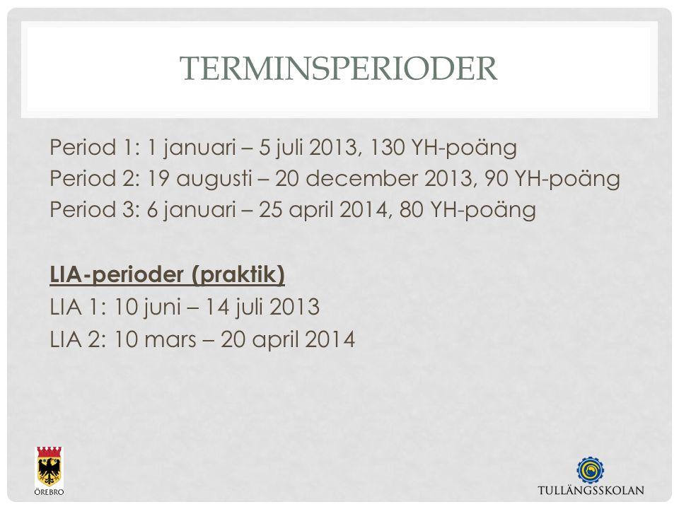 HELTIDSSTUDIER 168 TIM/VECKA