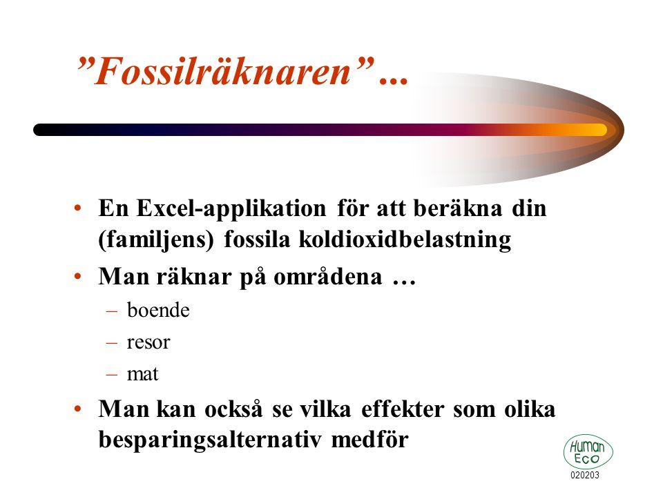020203 Fossilräknaren ...