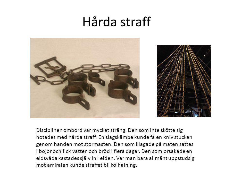 Trängsel Över 450 man skulle samsas på Vasa om hon seglat vidare.