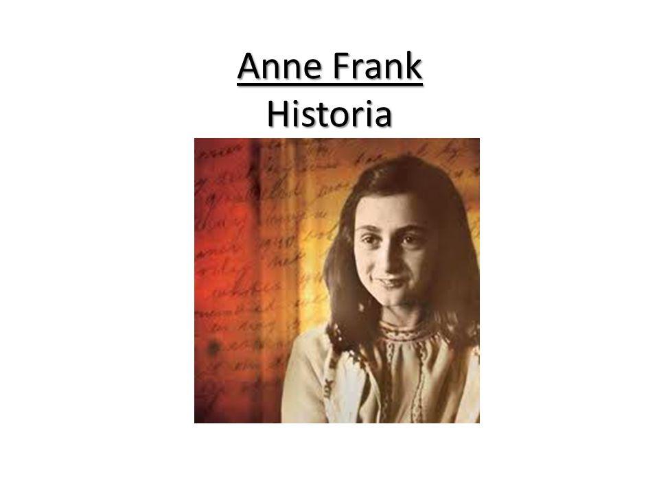 Hej jag är Anne Frank. Jag är 13 år och jag bor i Amsterdam. Jag skriver dagbok nästan hela tiden.