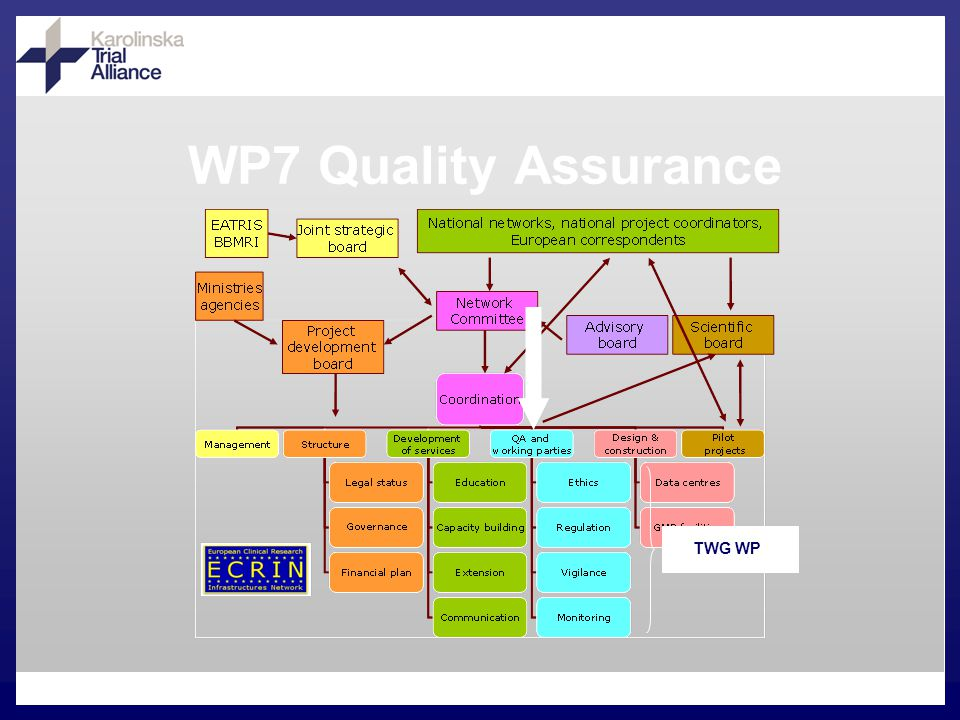WP7 Quality Assurance TWG WP