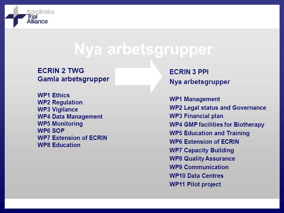 WP11 Pilot Project Pan-europeisk klinisk studie
