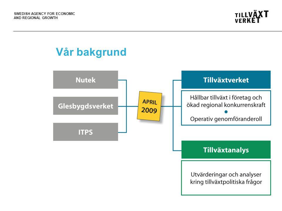 SWEDISH AGENCY FOR ECONOMIC AND REGIONAL GROWTH Miljö På vilket sätt kommer det att finnas ett eget strukturerat miljöarbete inom projektet och i den verksamheter som projektet förväntas resultera i (t.ex.