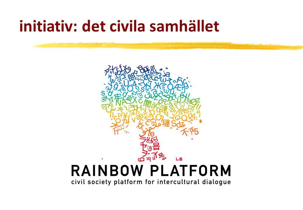 initiativ: det civila samhället