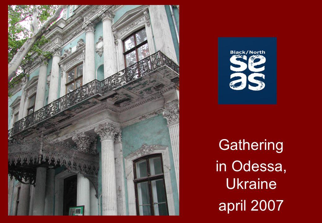 Gathering in Odessa, Ukraine april 2007