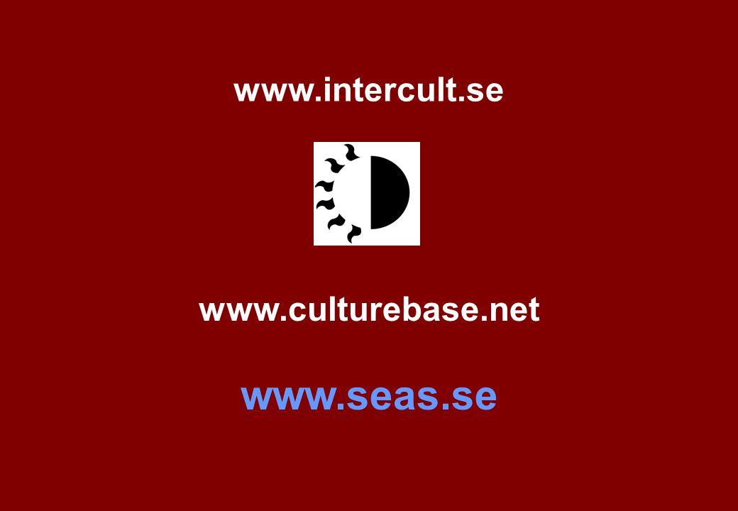 www.culturebase.net www.seas.se www.intercult.se
