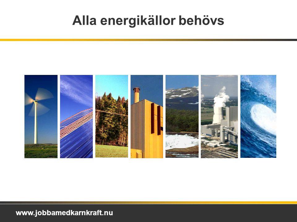 Alla energikällor behövs