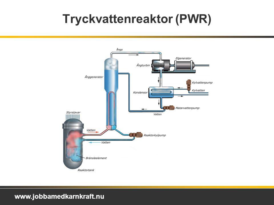 www.jobbamedkarnkraft.nu Tryckvattenreaktor (PWR)