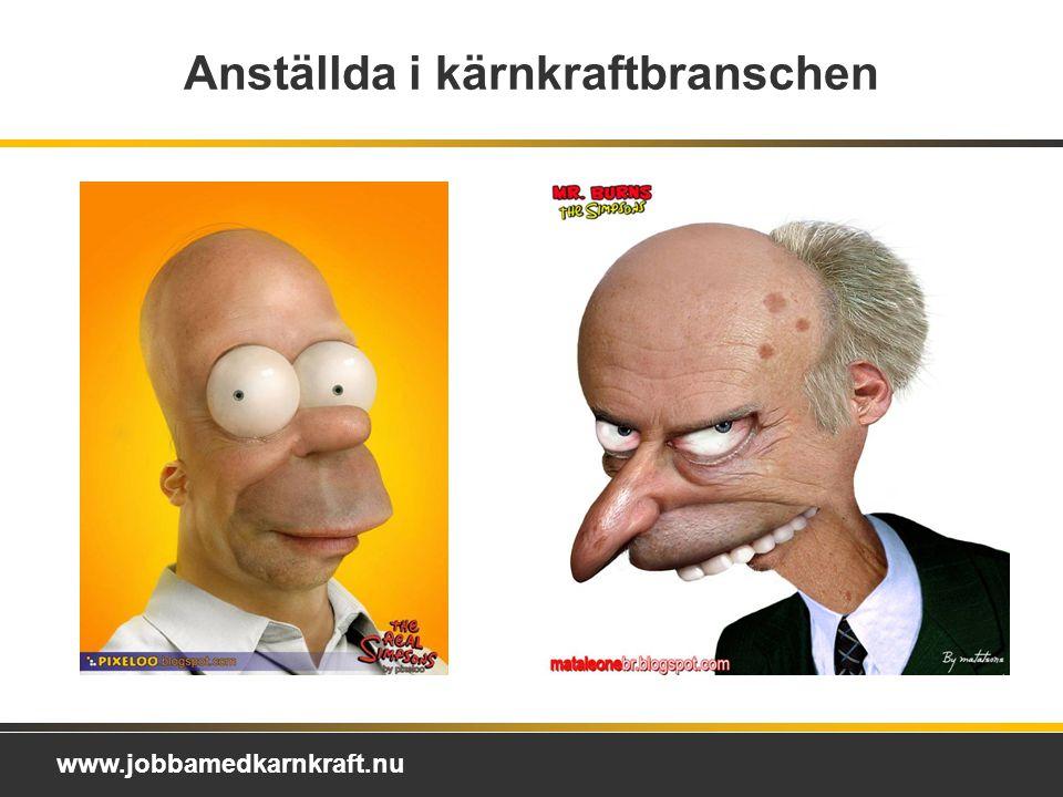www.jobbamedkarnkraft.nu Anställda i kärnkraftbranschen