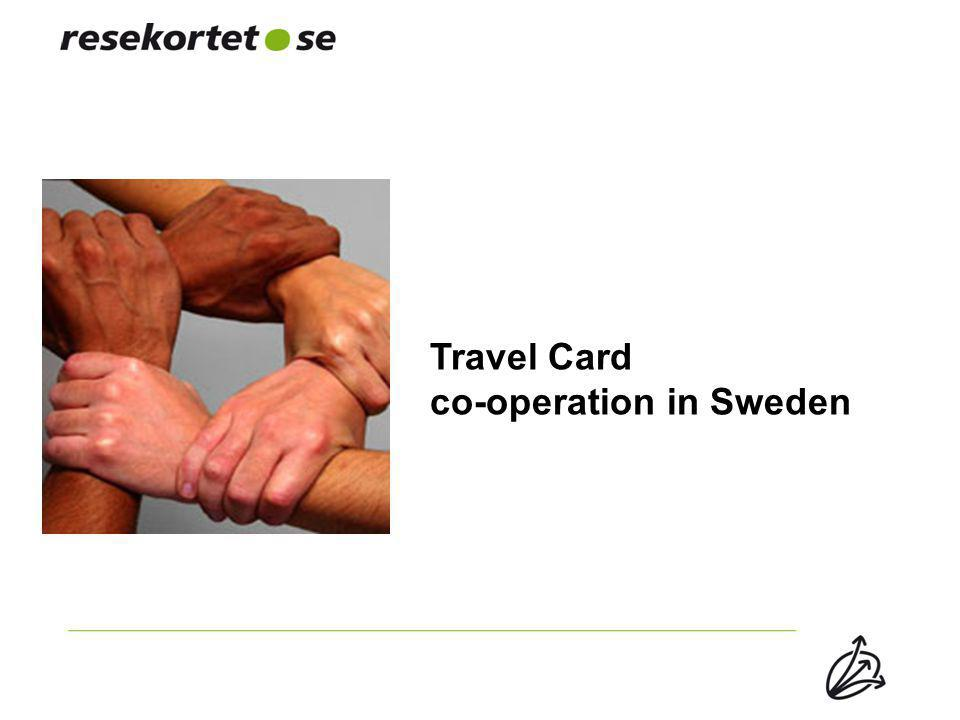 Travel Card co-operation in Sweden
