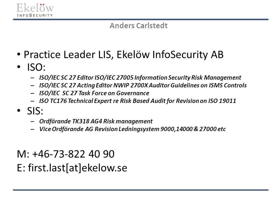 Risk treatment in ISO/IEC 27005