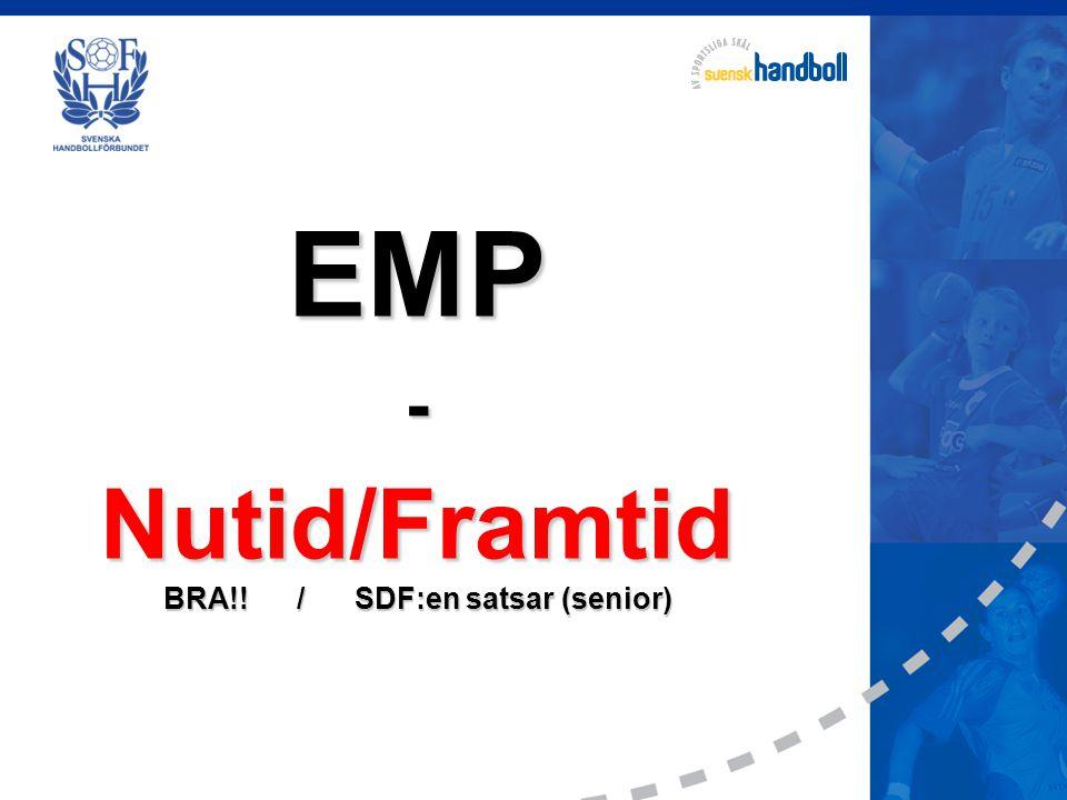 EMP-Nutid/Framtid BRA!! / SDF:en satsar (senior)