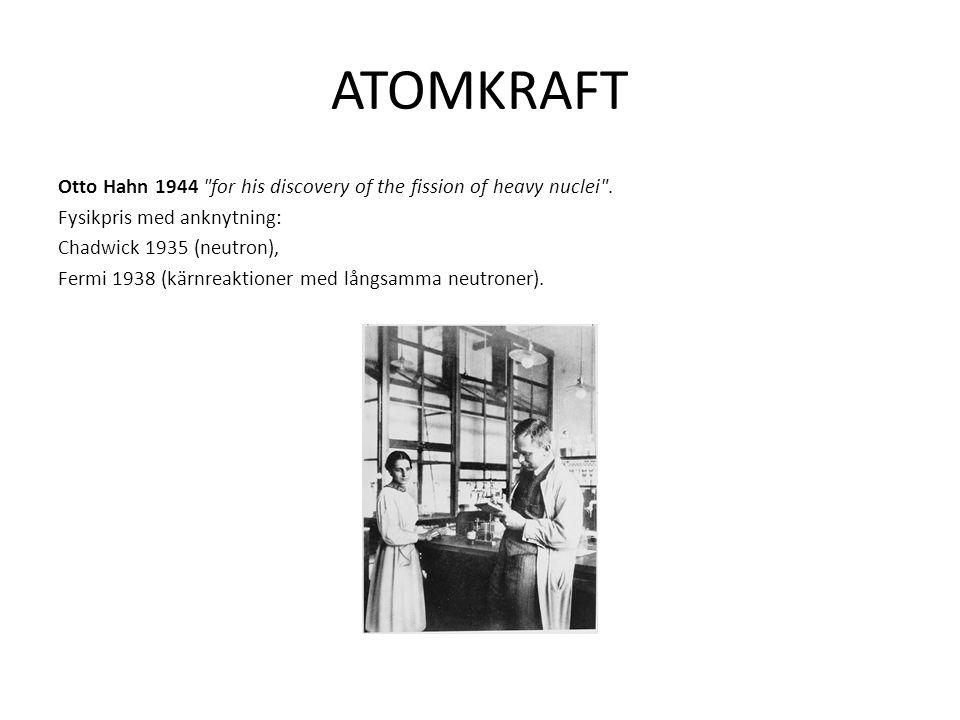 ATOMKRAFT Otto Hahn 1944