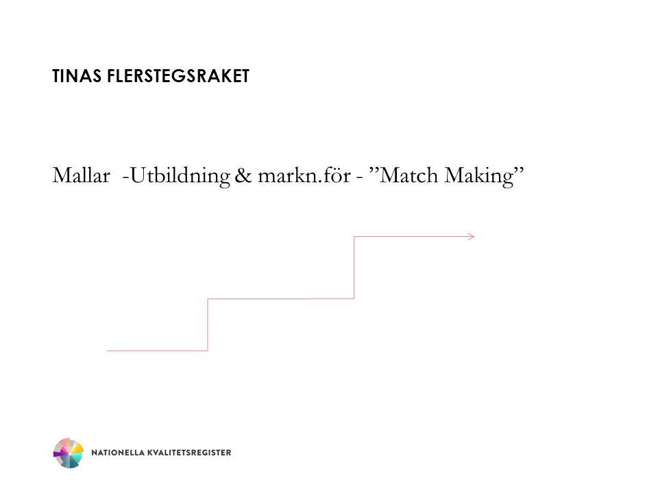 TINAS FLERSTEGSRAKET Mallar -Utbildning & markn.för - Match Making
