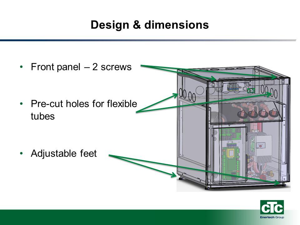 Design & dimensions