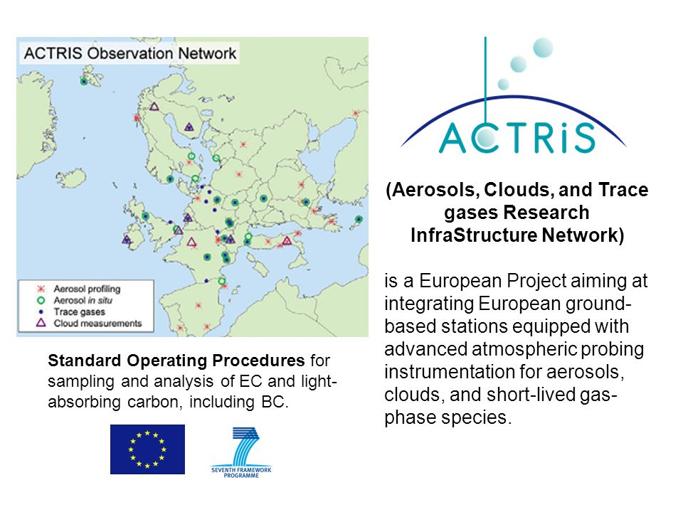 (Aerosols, Clouds, and Trace gases Research InfraStructure Network) is a European Project aiming at integrating European ground- based stations equipp