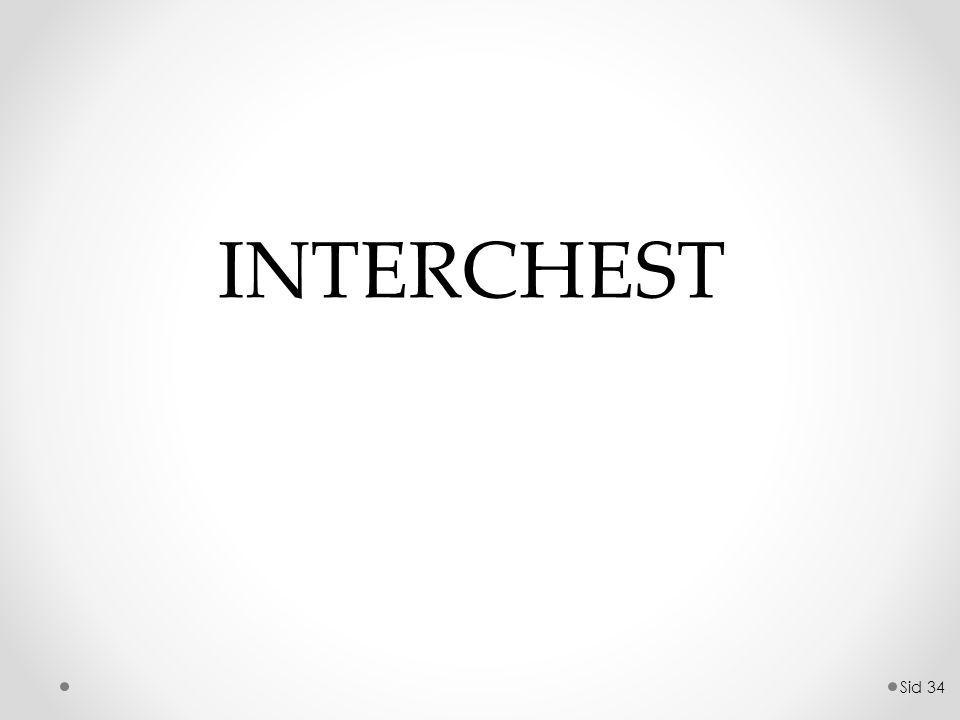Sid 34 INTERCHEST