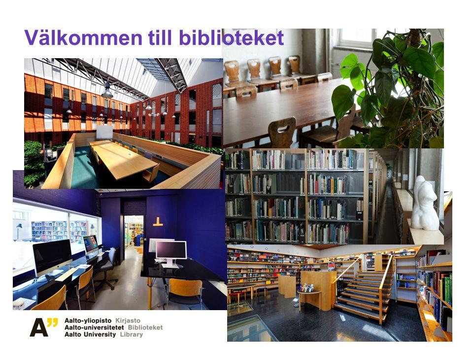Välkommen till biblioteket