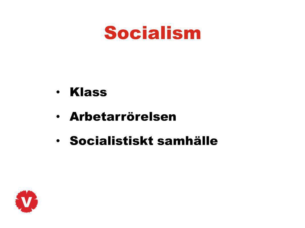 Socialism Klass Arbetarrörelsen Socialistiskt samhälle