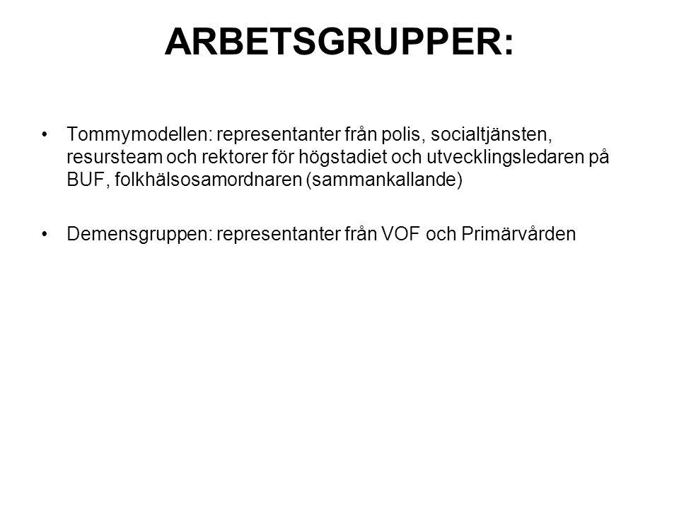 Samverkan med polisen sker i följande grupper: Trygghetsrådet Ev.