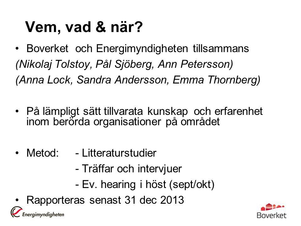 Varför renoveringsstrategi.EU, och Sverige, når inte uppsatta energieffektiviseringsmål till 2020.