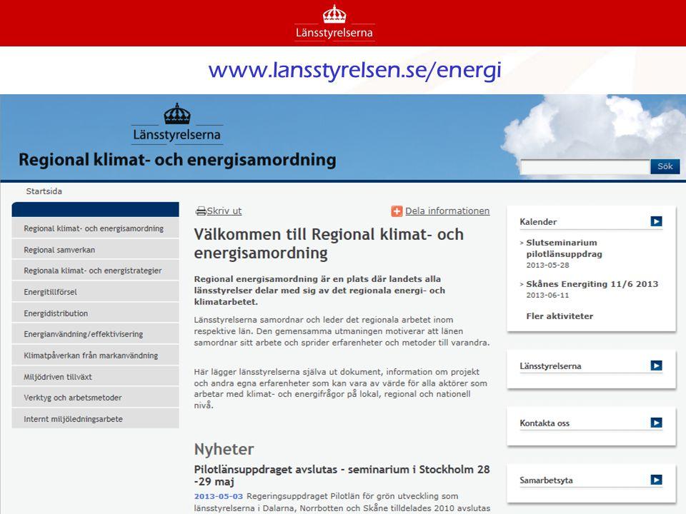 www.lansstyrelsen.se/energi